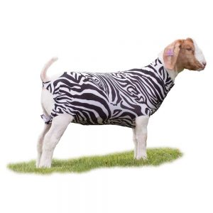 353575S1, 353576S1, 353577S1 Spandex Goat Tube - Patterned, Assorted Animal Prints