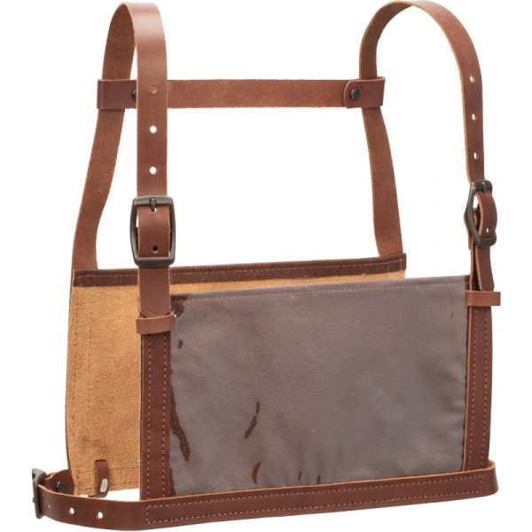 Brown Leather Show Number Harness